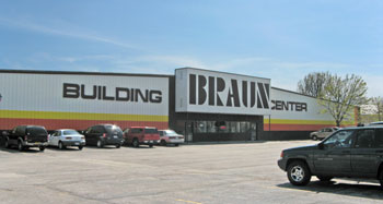 Braun Building Center in Manitowoc