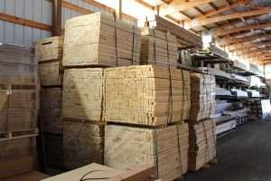 Braun Lumber Yard View