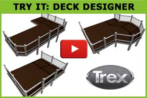 Trex Deck Designer Button