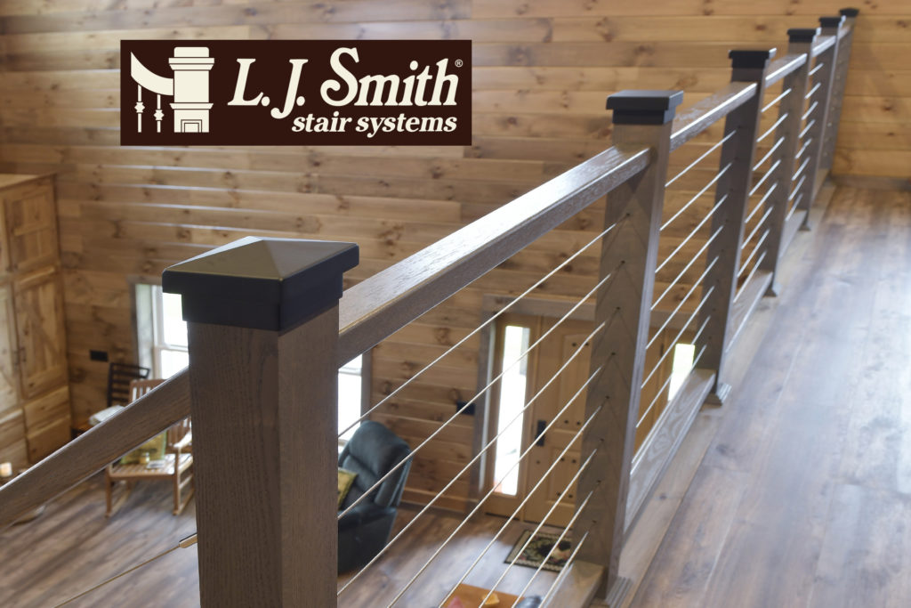 LJ Smith Interior Cable Stair System