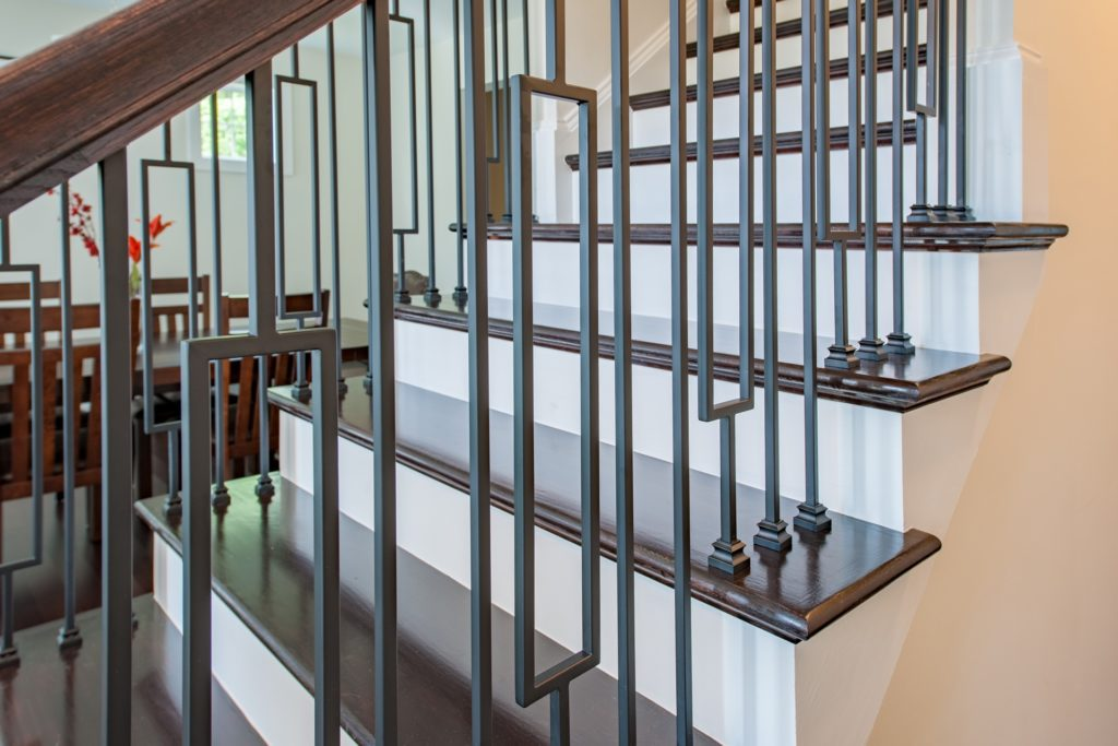 LJ Smith Iron Baluster Stair System