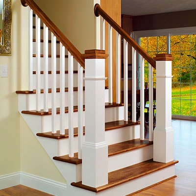 LJ Smith Wood Stair System