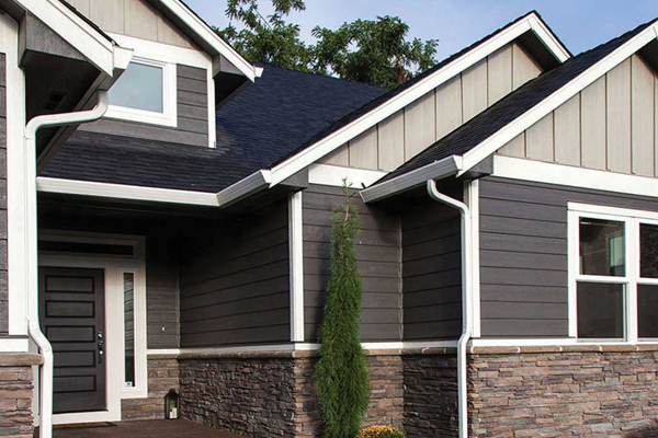 LP Smartside Siding on House