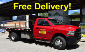 Free Delivery at Braun Building Center