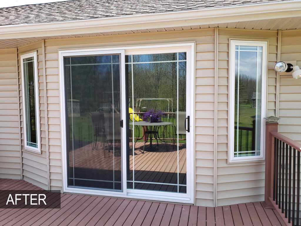 After View - Outside View All Window Replacement Alliance Vinyl Window Systems 2