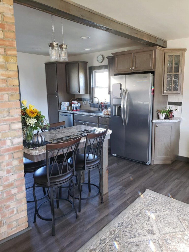 Modern Contemporary Kitchen Makeover with StarMark Cabinetry