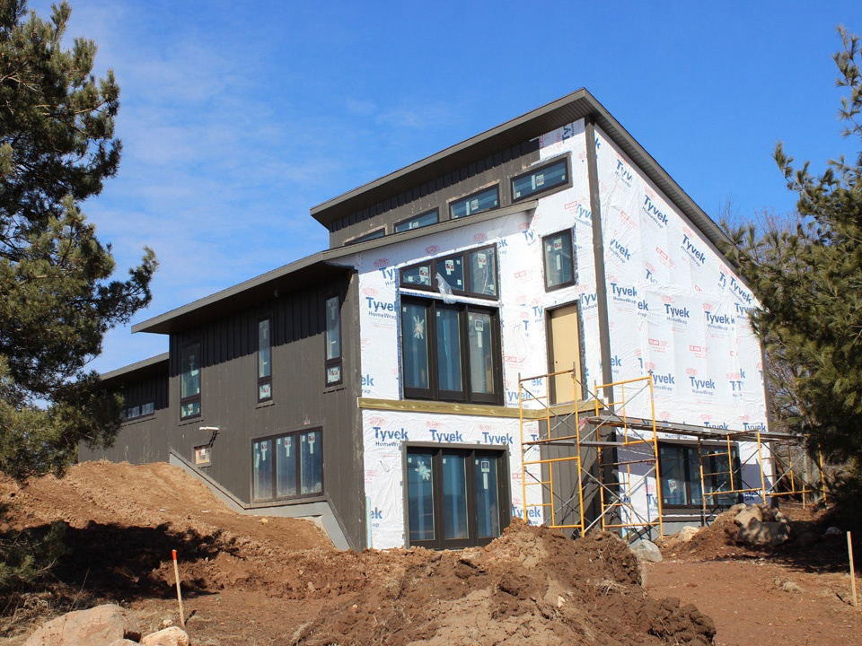 Beautiful Home on the Lakefront New Construction