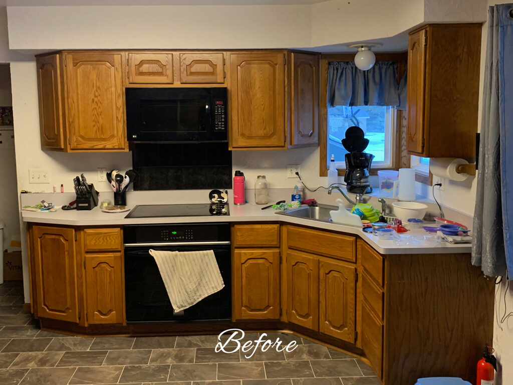Before 1990s Kitchen Remodel
