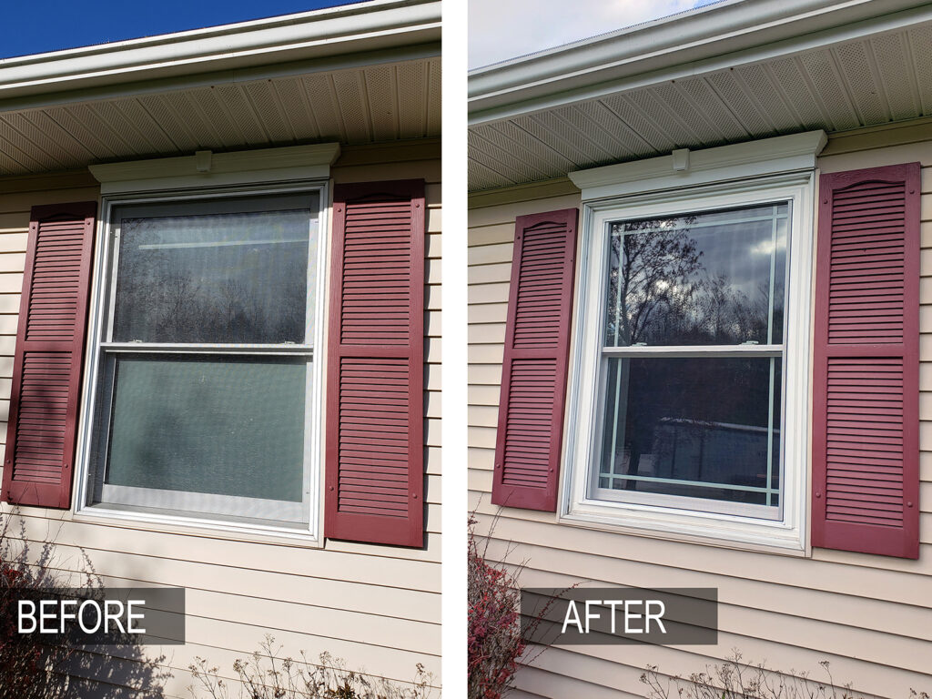 Before/After - All Window Replacement Alliance Vinyl Window Systems 1