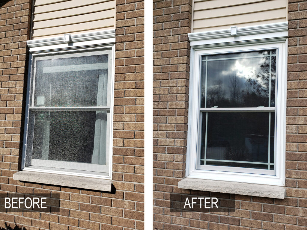 Before/After - All Window Replacement Alliance Vinyl Window Systems 3