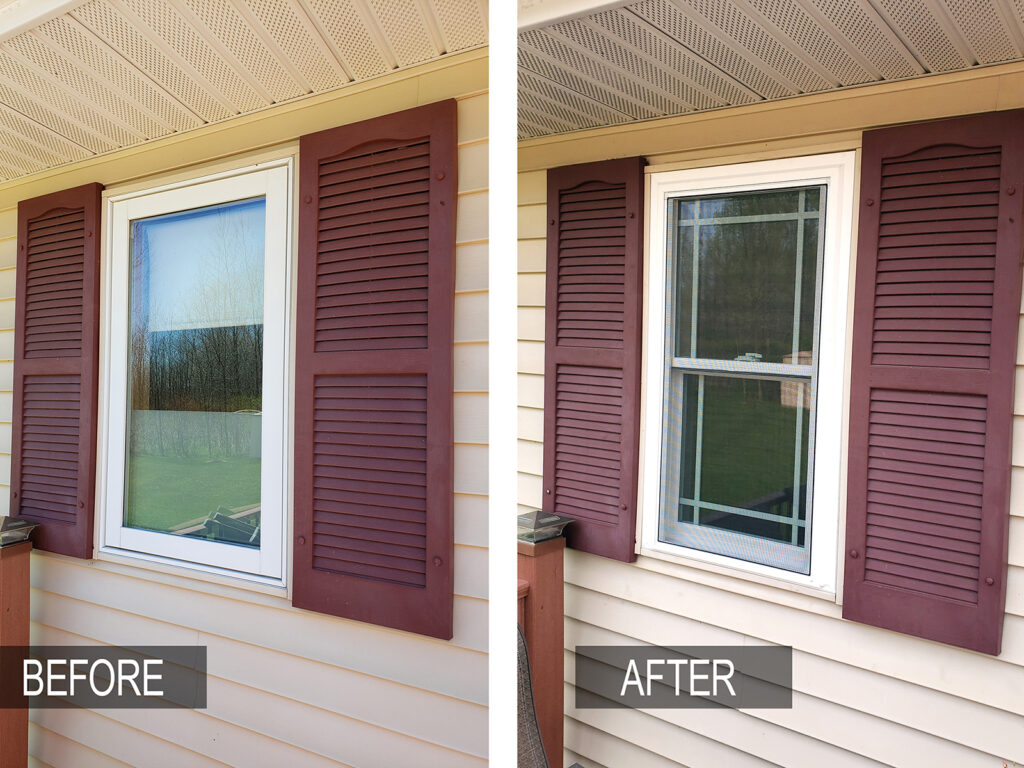 Before/After - All Window Replacement Alliance Vinyl Window Systems 4