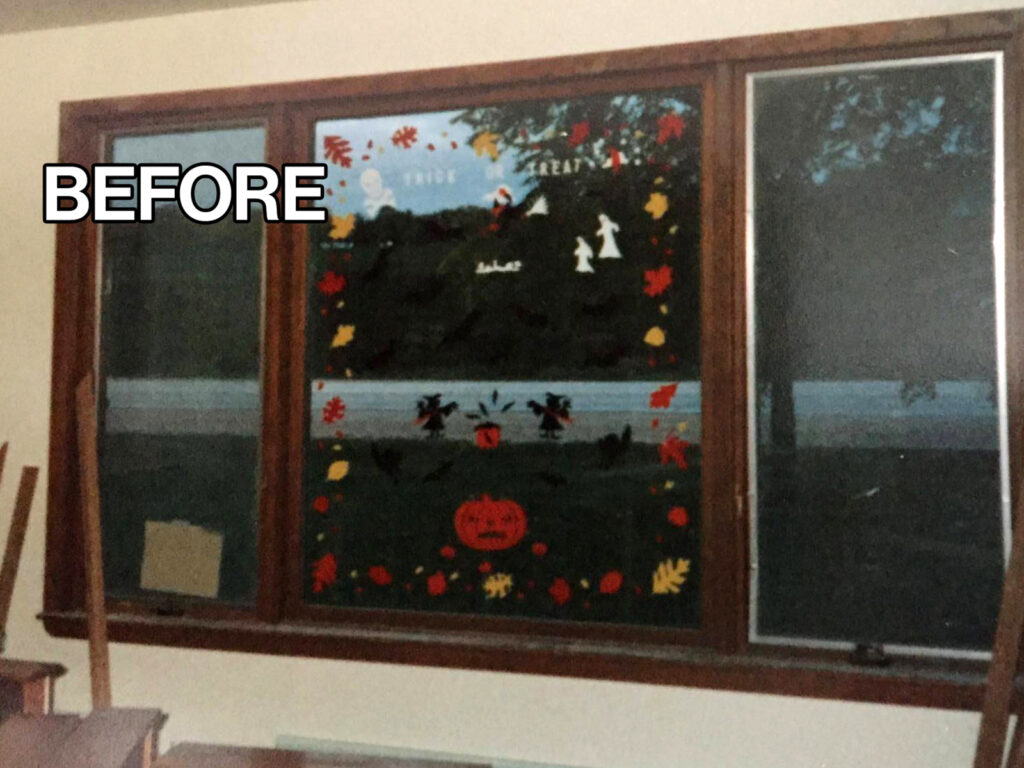 Before View - Custom Fit Front Window Transformation 1