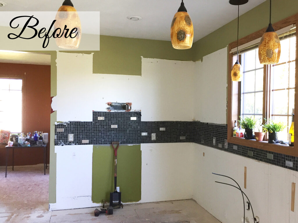 Before View Mid Continent Cabinetry Gorgeous Kitchen Transformation 1