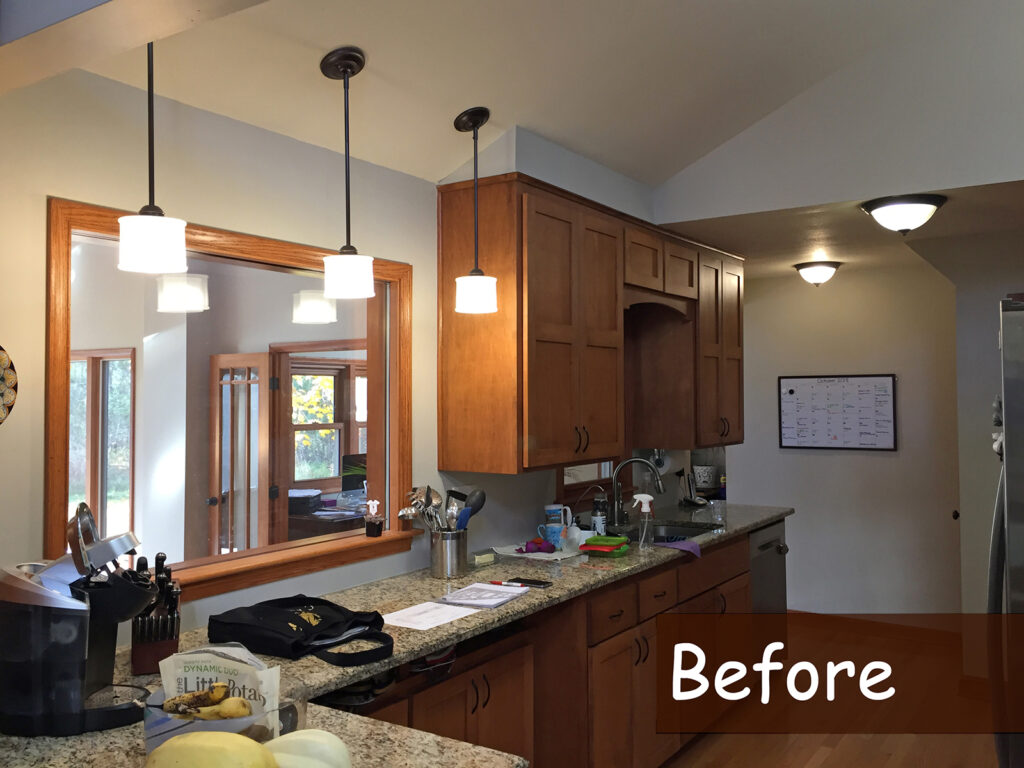 Before StarMark Cabinetry Beautifully Crafted Kitchen Renovation 1
