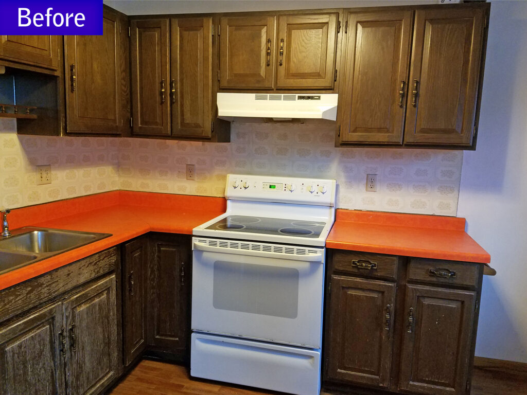 Before StarMark Cabinetry Dramatic Kitchen Makeover 1