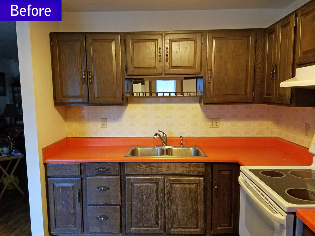 Before StarMark Cabinetry Dramatic Kitchen Makeover 2