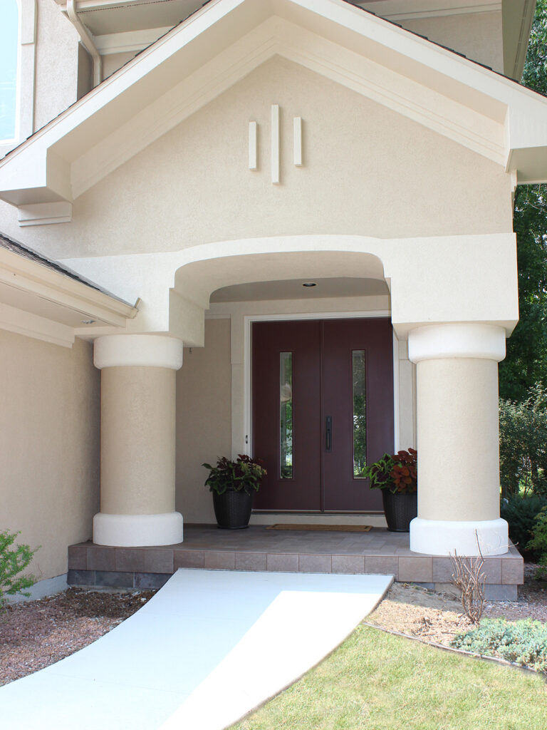 Curb Appeal Gets a Boost New Entry Door 3