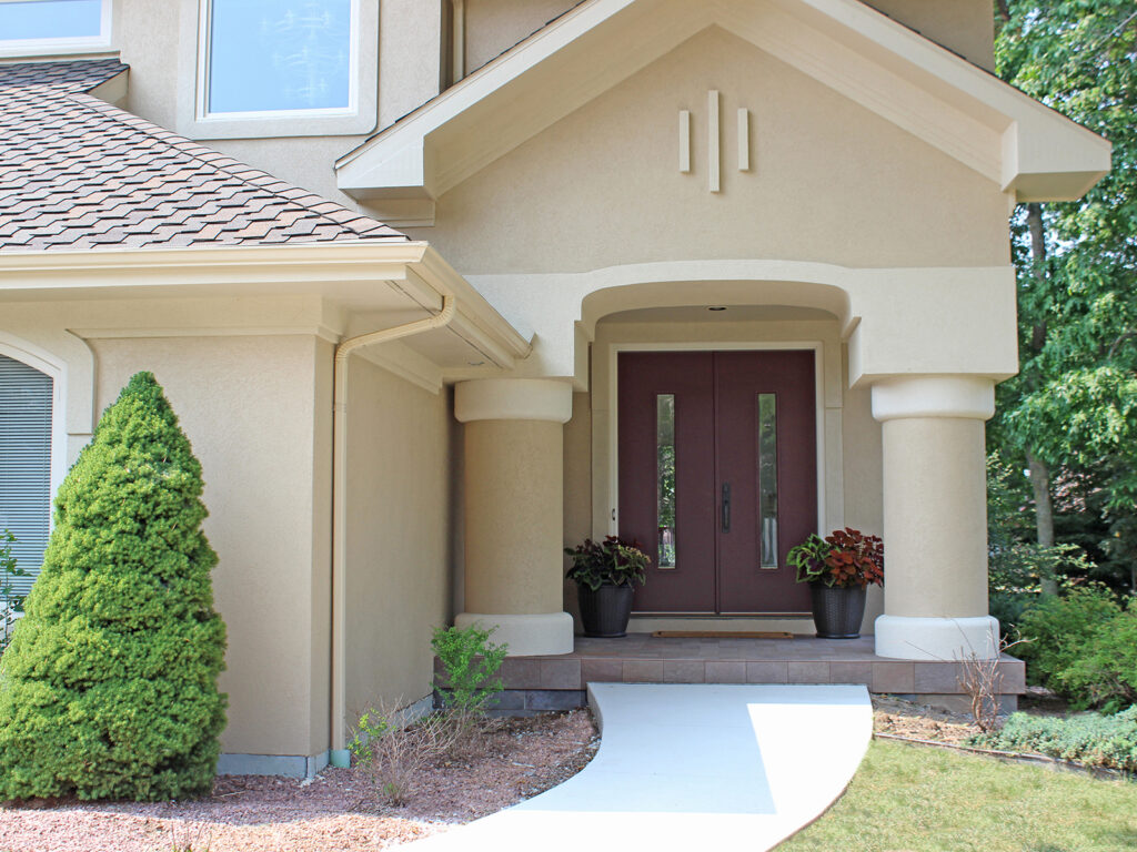 Curb Appeal Gets a Boost New Entry Door 7