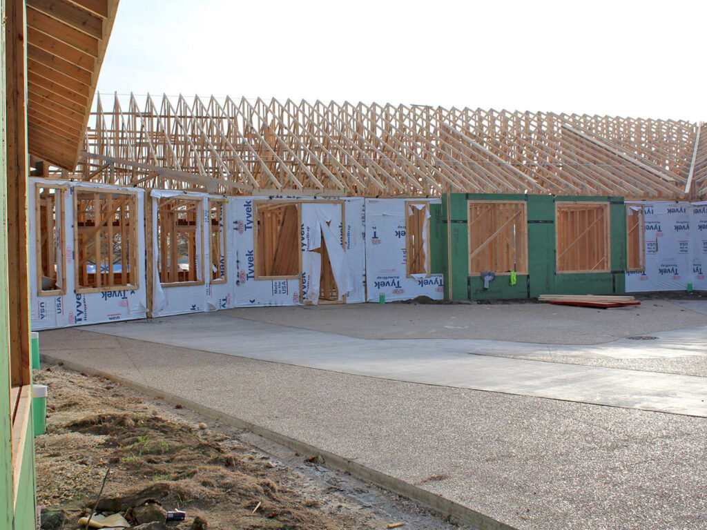 Extensive Truss and Framing System Laurel Grove Assisted Living Facility 12