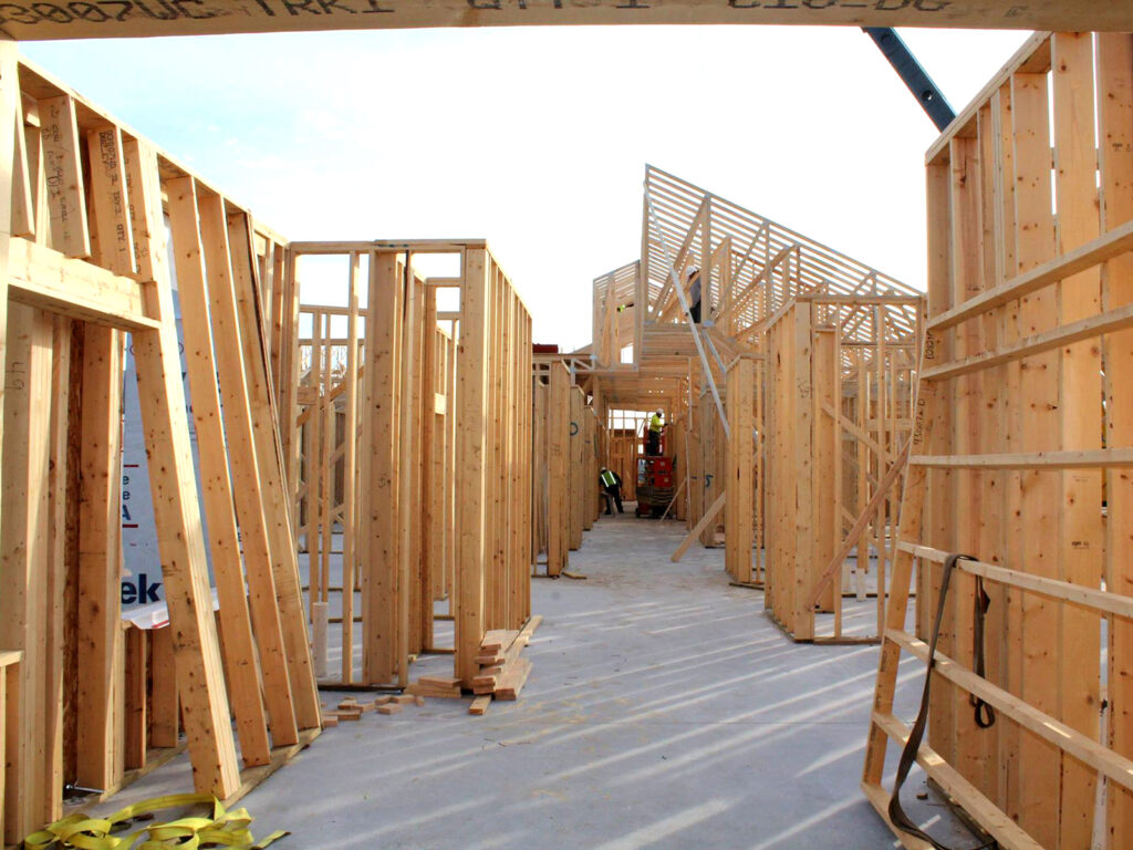 Extensive Truss and Framing System Laurel Grove Assisted Living Facility 13