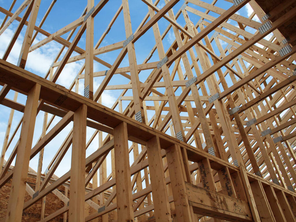 Extensive Truss and Framing System Laurel Grove Assisted Living Facility 3