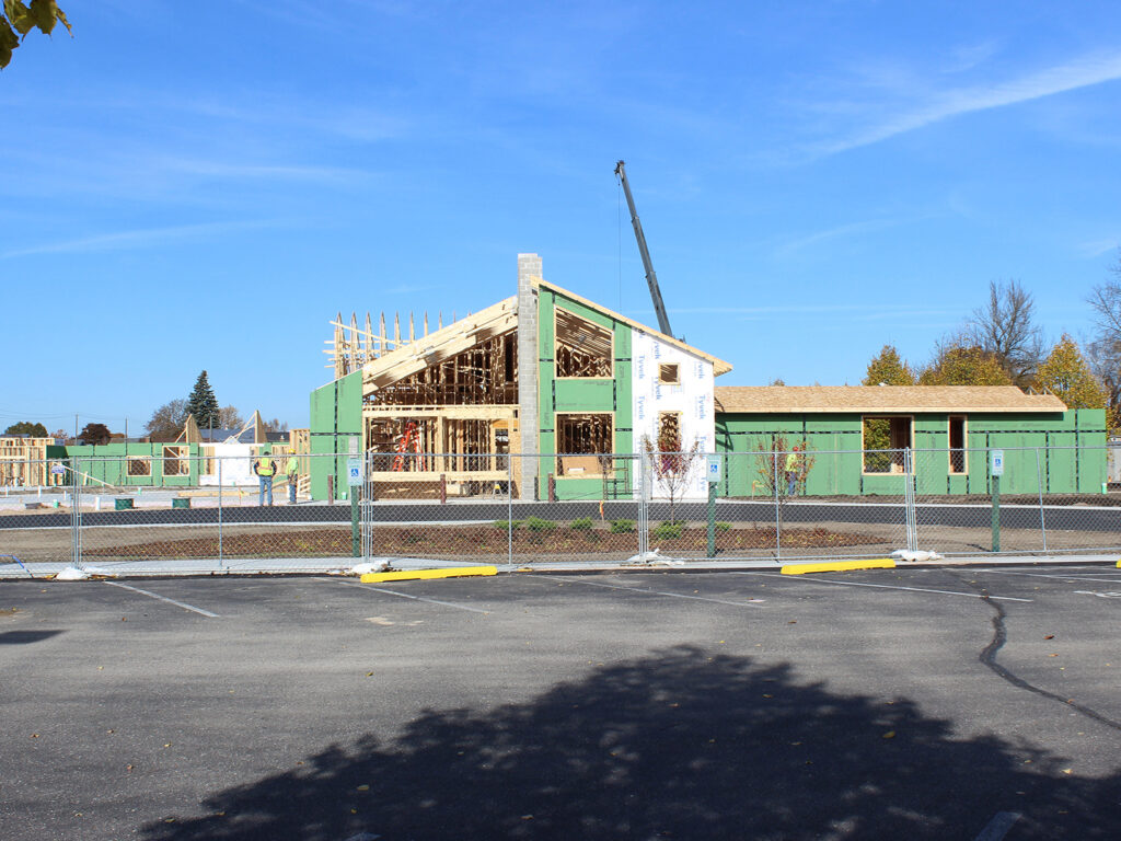 Extensive Truss and Framing System Laurel Grove Assisted Living Facility 4