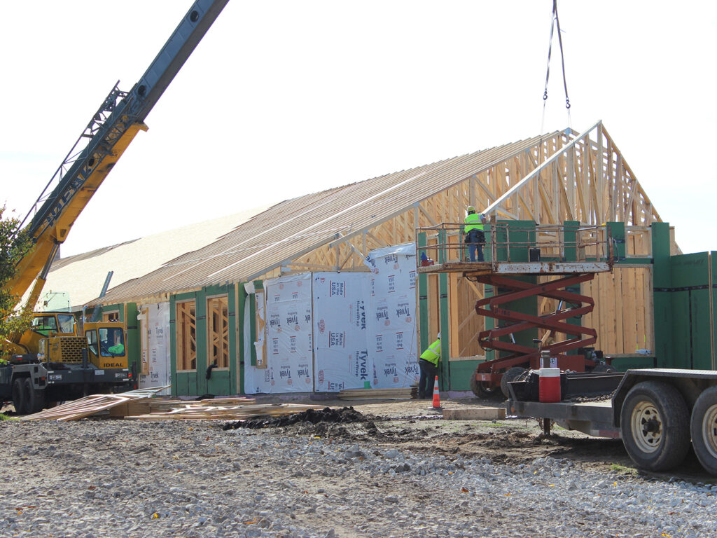 Extensive Truss and Framing System Laurel Grove Assisted Living Facility 5