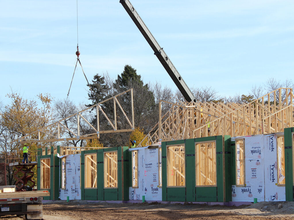 Extensive Truss and Framing System Laurel Grove Assisted Living Facility 6