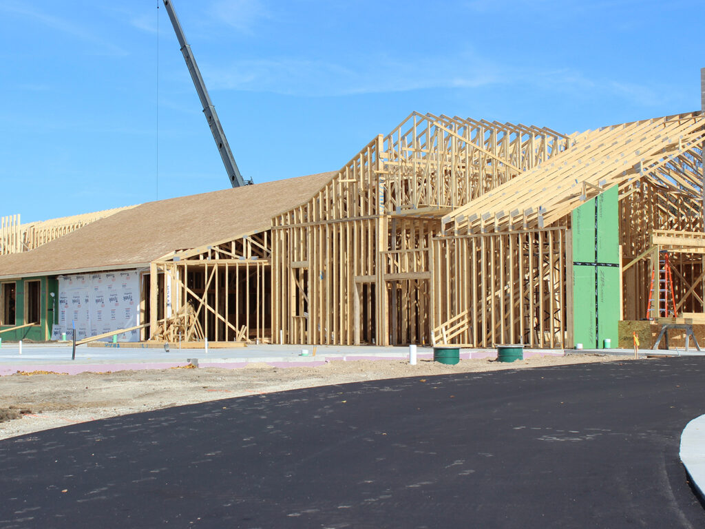 Extensive Truss and Framing System Laurel Grove Assisted Living Facility 7