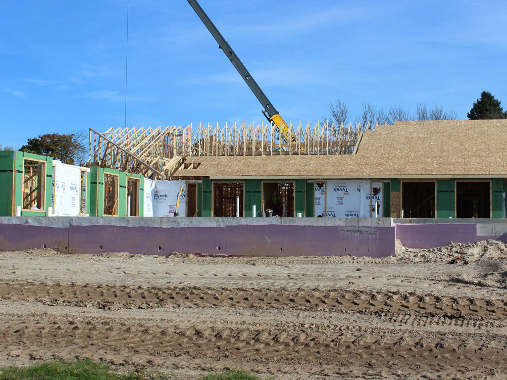 Extensive Truss and Framing System Laurel Grove Assisted Living Facility 8