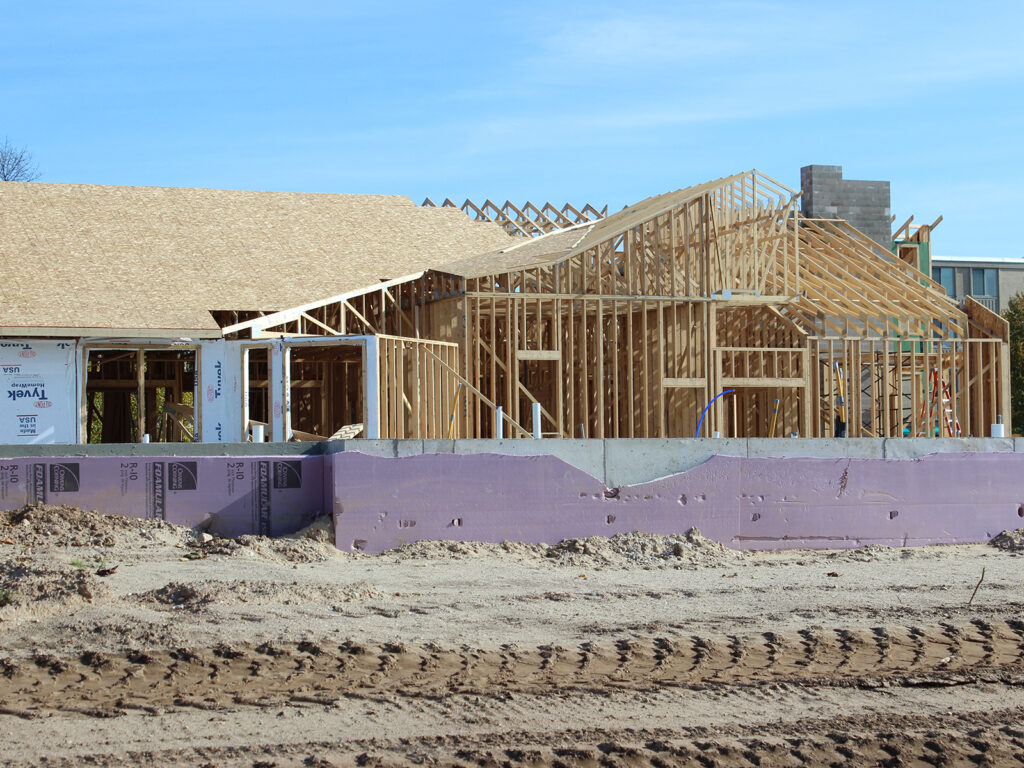 Extensive Truss and Framing System Laurel Grove Assisted Living Facility 9
