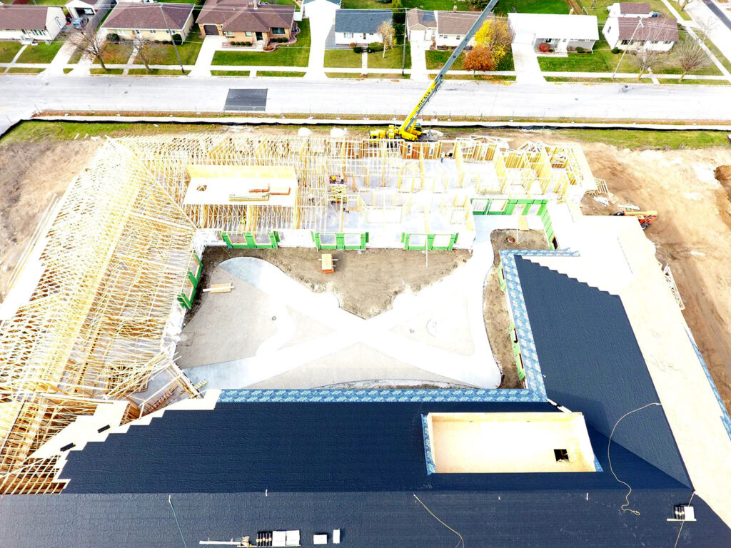Extensive Truss and Framing System Laurel Grove Assisted Living Facility 11
