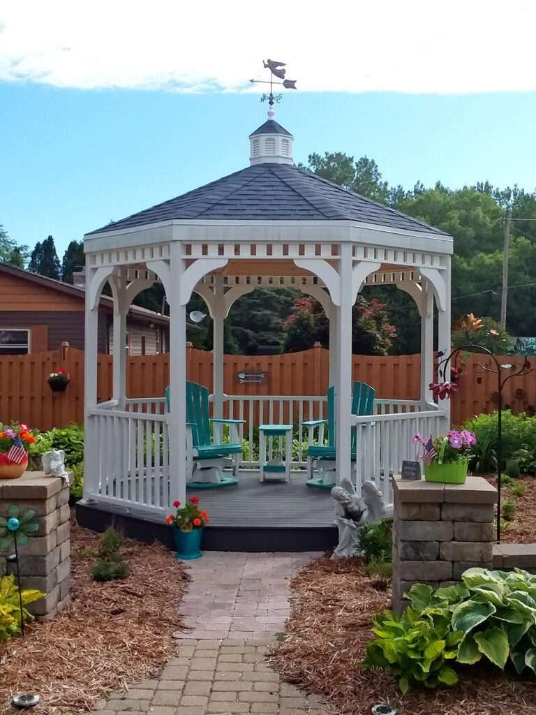 Gorgeous Maintenance Free Backyard Gazebo