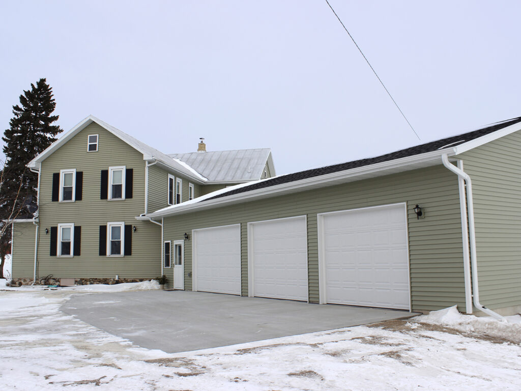 Handicap Accessible House Entrance and Garage 1