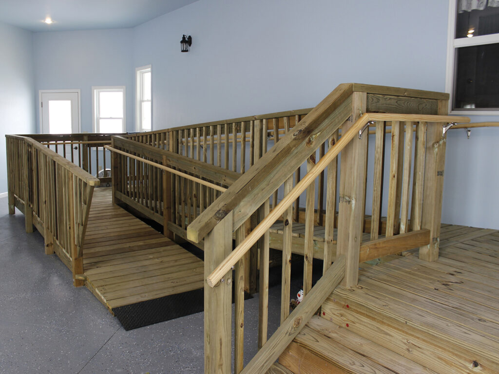 Handicap Accessible House Entrance and Garage 5
