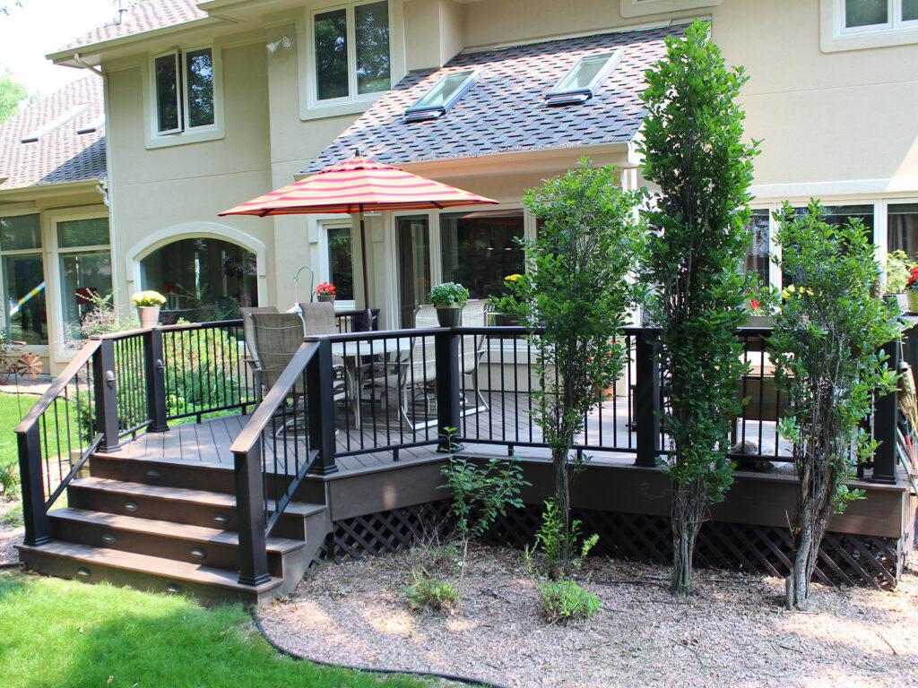 Maintenance Free Composite Deck and Railing 1