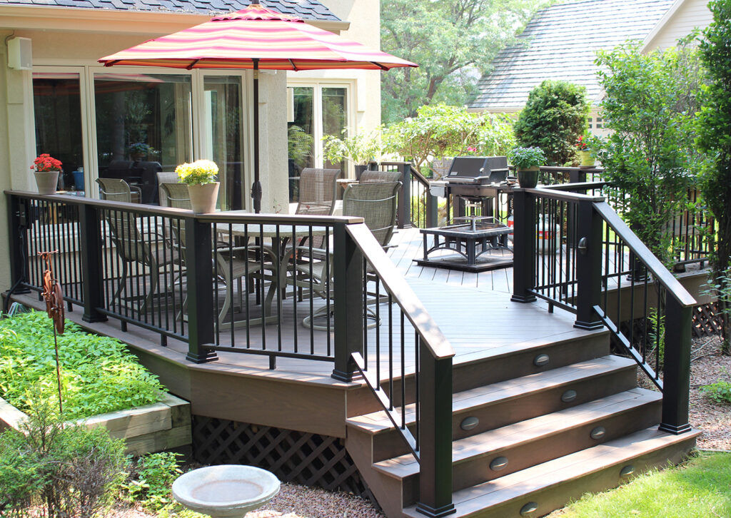 Maintenance Free Composite Deck and Railing