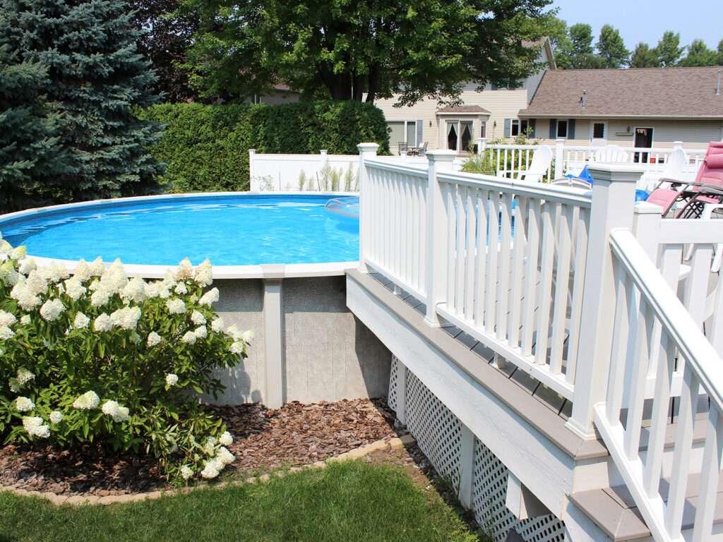 Maintenance Free Composite Pool Decking 2