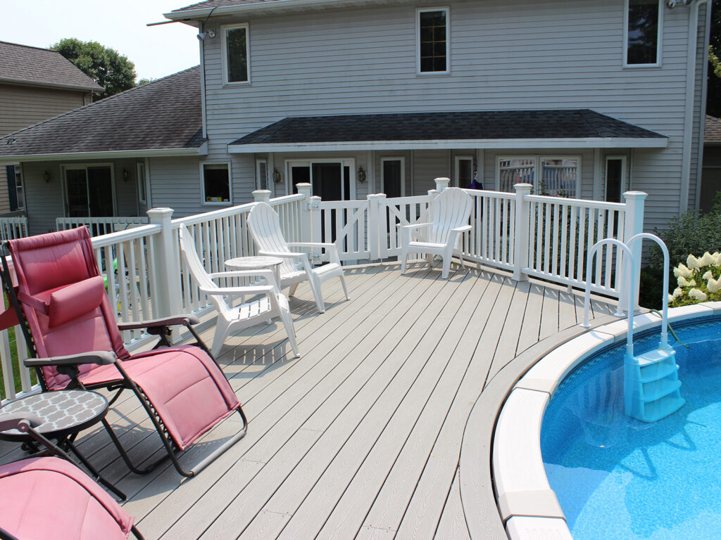 Maintenance Free Composite Pool Decking 3