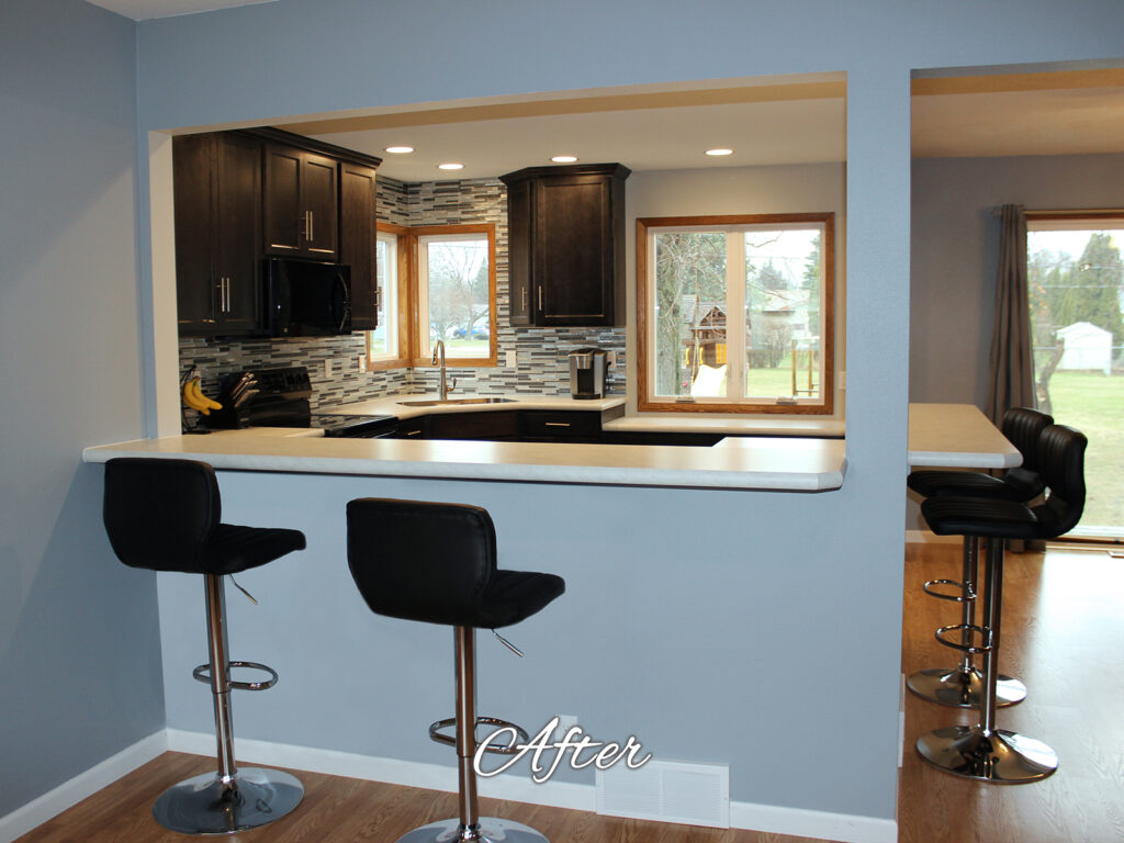 Mid Continent Cabinetry Contemporary Kitchen Update - After 16