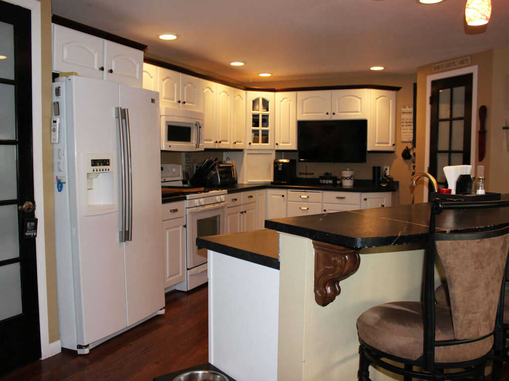 Mid Continent Cabinetry Creation of Open Concept Kitchen