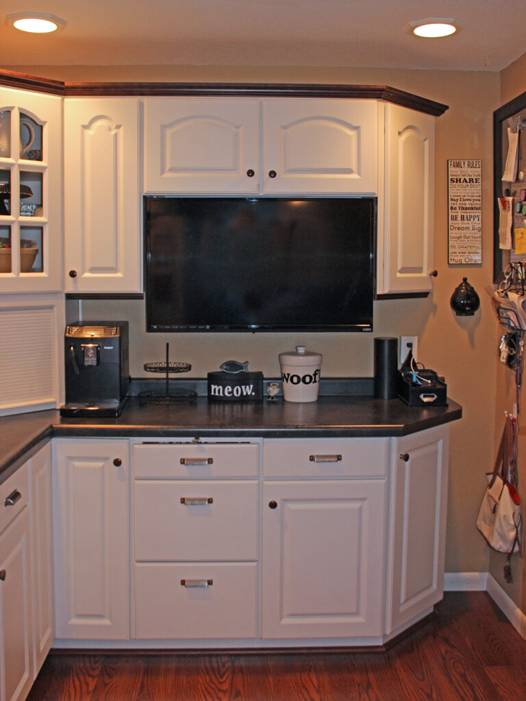Mid Continent Cabinetry Creation of Open Concept Kitchen 10