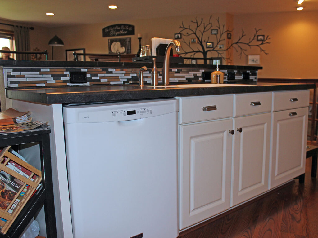 Mid Continent Cabinetry Creation of Open Concept Kitchen 12