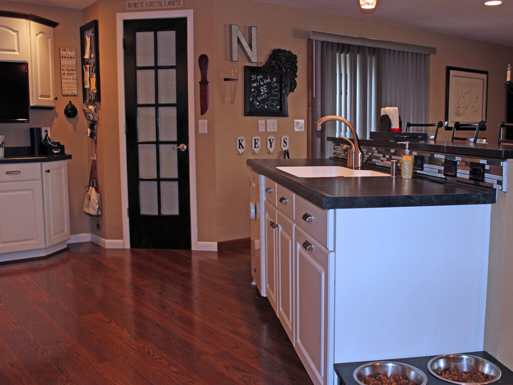 Mid Continent Cabinetry Creation of Open Concept Kitchen 13
