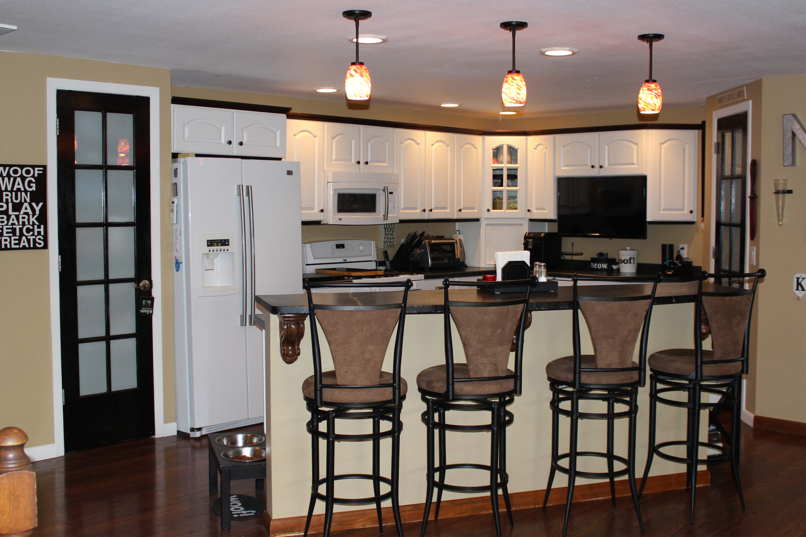 Mid Continent Cabinetry Creation of Open Concept Kitchen 3