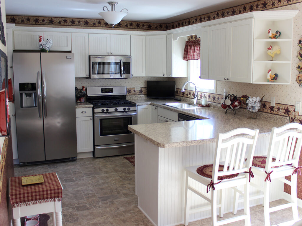 Mid Continent Cabinetry Super Cute Cottage Like Renovation