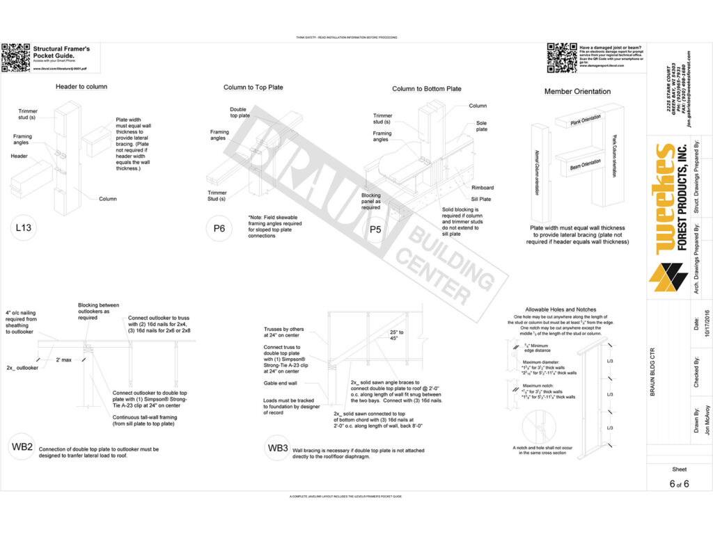 New Home Construction Tall Wall Layout 12