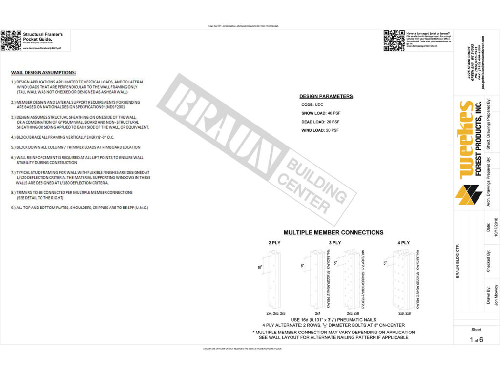 New Home Construction Tall Wall Layout 13
