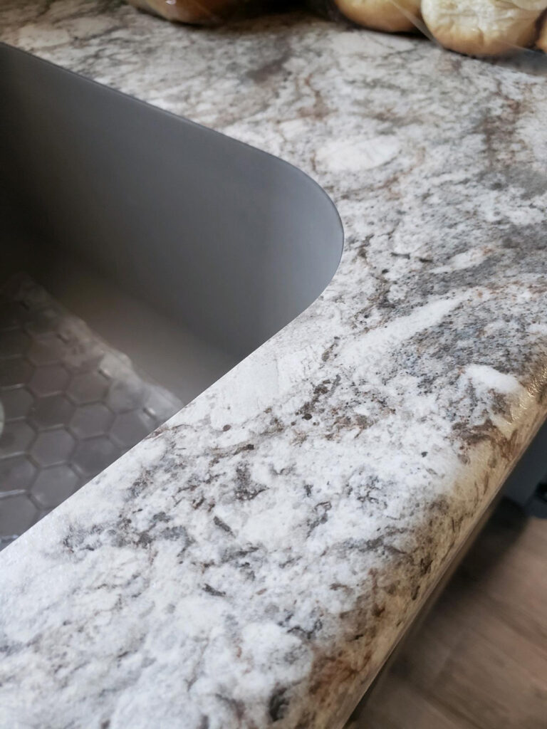 No Drip Edge Arborite Granite Look Countertop