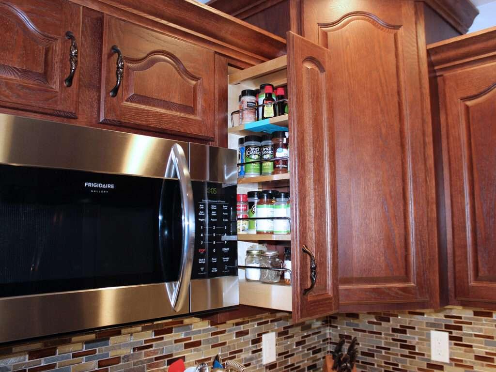 StarMark Cabinetry Elegant Redo of 1980s Kitchen 12